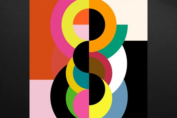 Tableau moderne Abstrait Bulbick