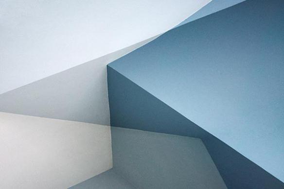 Tableau moderne abstrait Corner