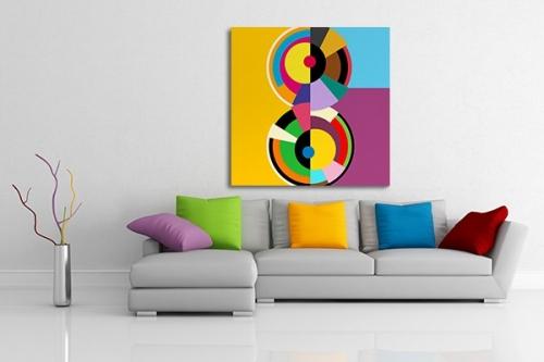 tableaux modernes pour une deco murale design izoa. Black Bedroom Furniture Sets. Home Design Ideas