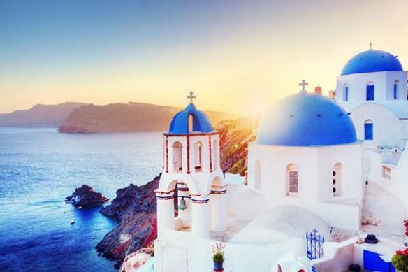 Toile décoration Grèce