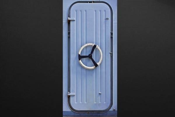 Sticker porte design bateau izoa - Porte gobelet pour bateau ...