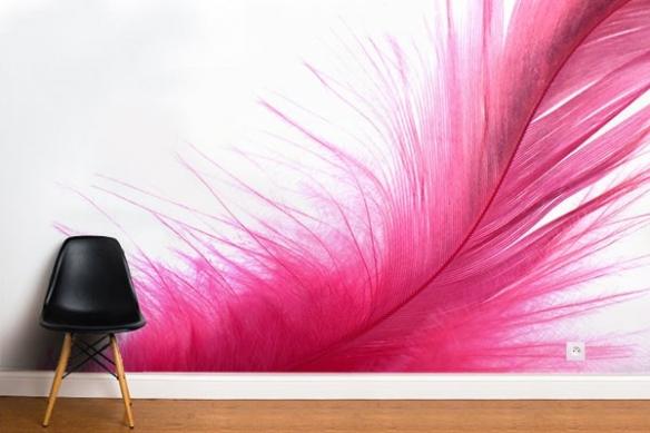 poster mural sweet pink