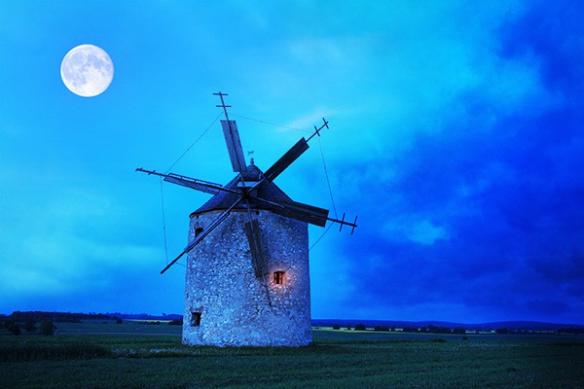 Tableau déco original Moulin