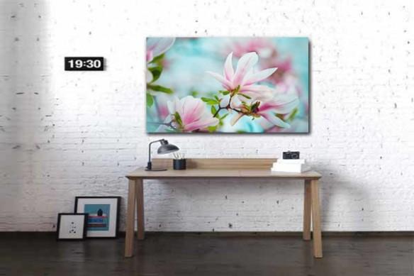 Toile Magnolia en fleur