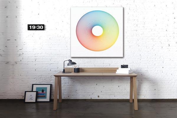 Tableau Design Cercle Chromatique Izoa