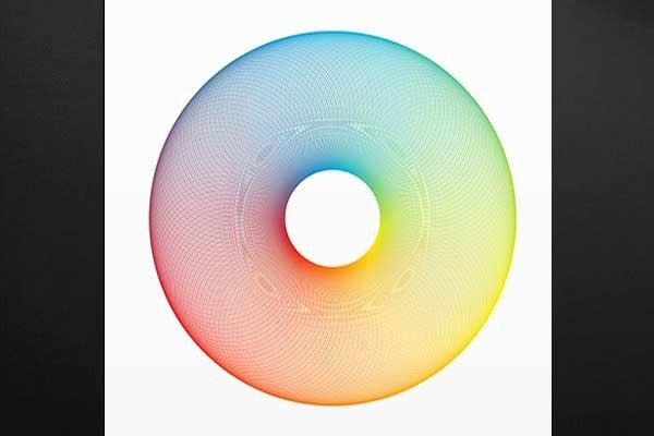 Tableau design cercle chromatique izoa for Cercle chromatique decoration