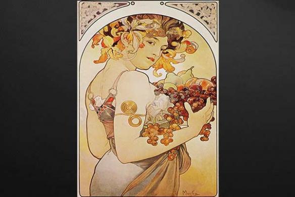 Décoration originale déesse des fruits