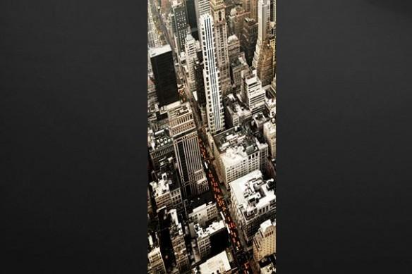 décoration thème new york buildings