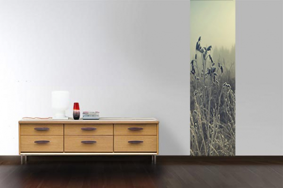 Papier peint photo herbes Taïga