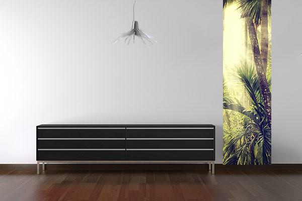 papier peint vintage tropical izoa. Black Bedroom Furniture Sets. Home Design Ideas