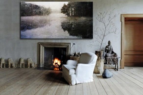 Tableau Decoration paysage forêt
