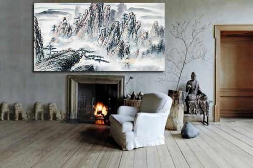 deco salon zen paysage belvedere