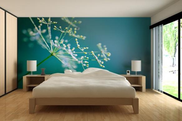 deco chambre poster mur fleur