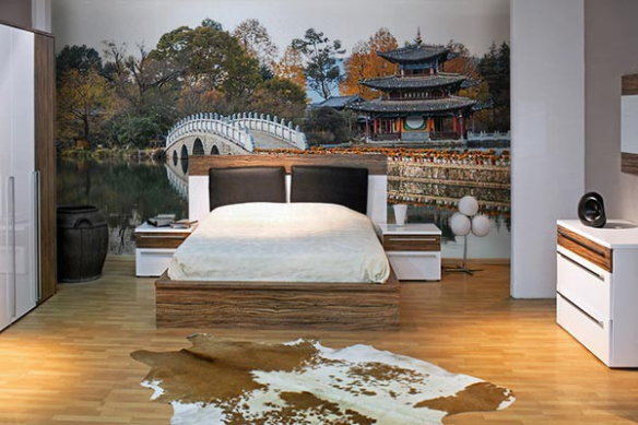 Déco murale chambre Constrcutions Chinoises