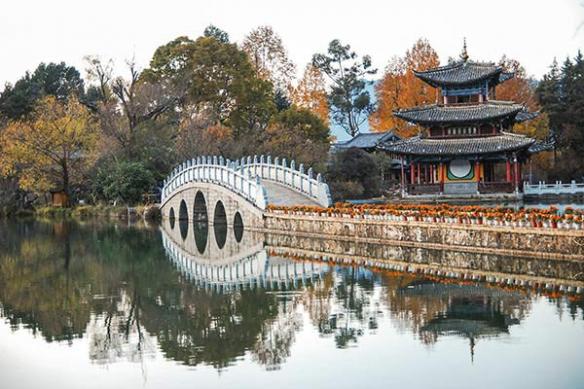 papier peint chambre paysage chinois