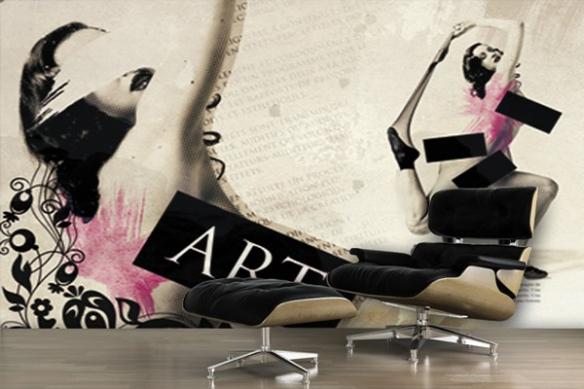 decoration mural femme ARTificielle