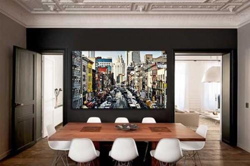 Tableau New York Manhattan distortion
