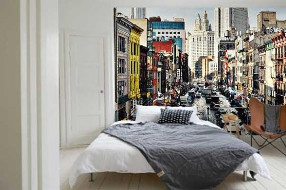 Papier Peint chambre new york chinatown