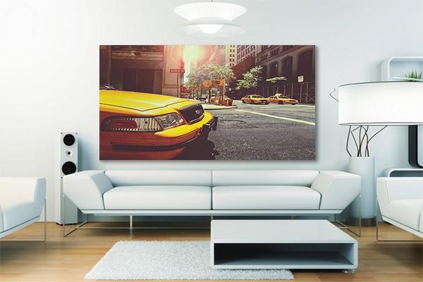 tableau xxl taxis new yorkais izoa. Black Bedroom Furniture Sets. Home Design Ideas