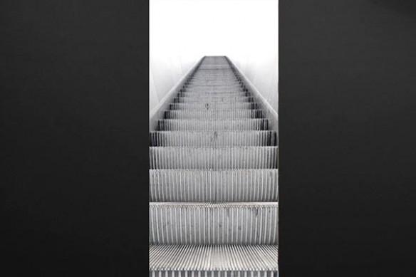 deco porte design escalateur