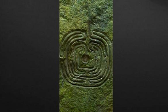 déco de porte Labyrinthe Végétal