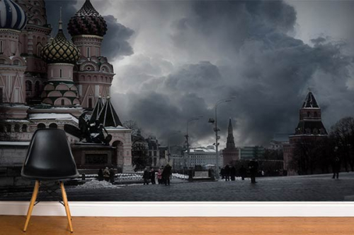 Déco murale Kremlin de Moscou