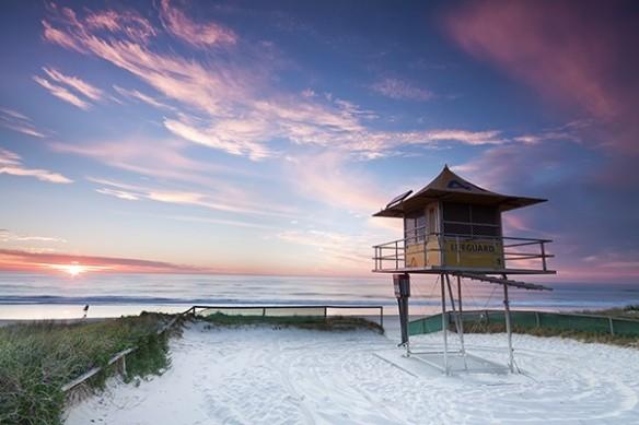cabane plage Miami