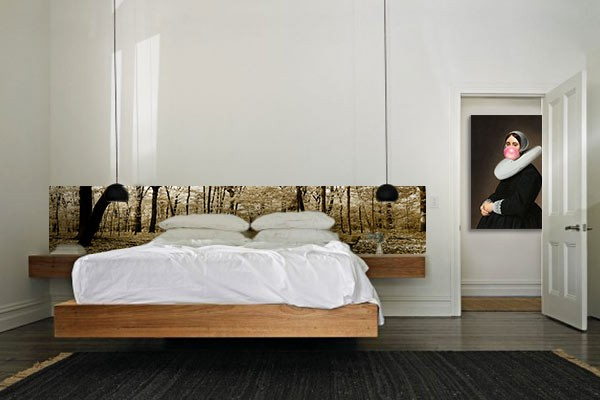 frise murale chambre bois s pia izoa. Black Bedroom Furniture Sets. Home Design Ideas