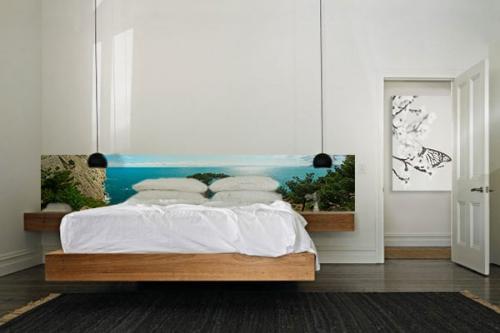 Papier peint l unique paysage izoa for Chambre bleu horizon
