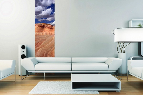 Poster mural Courbes du sable