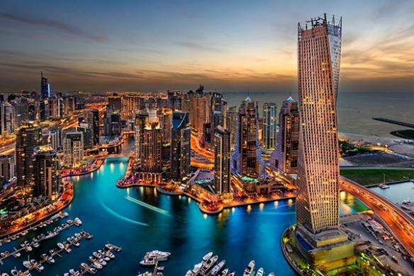 Dubaï marina