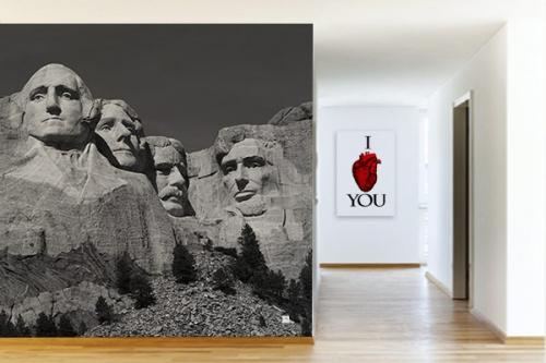 Poster mural Mont Rushmore