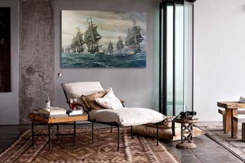 Tableau d co pirates des cara bes izoa - Decoration pirate des caraibes ...