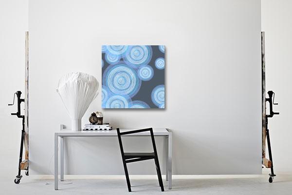 tableau abstrait tourbillon design izoa. Black Bedroom Furniture Sets. Home Design Ideas