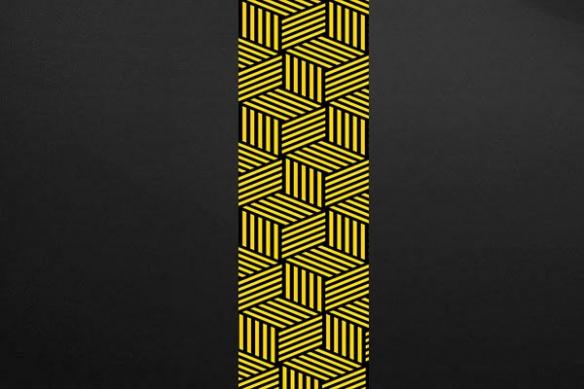Calipso design mural jaune