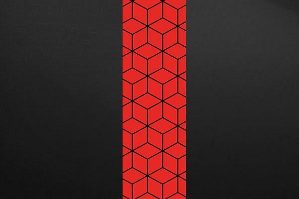 Papier Peint Scandinave Cubes Design