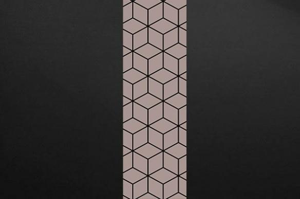 cubes design deco murale gris