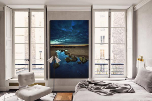 Tableau paysage mer Thalia