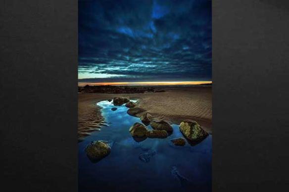 Tableaux mer et plage Thalia