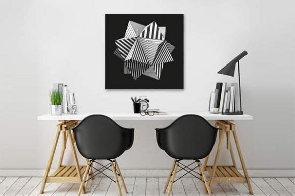 Tableau design Géométrie Complexe
