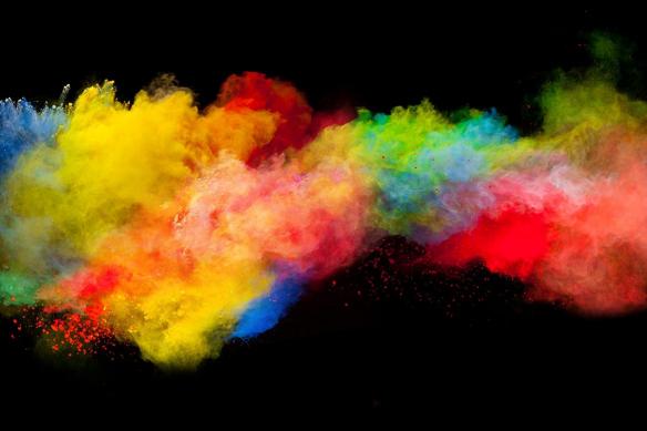 déco murale Festival de couleurs