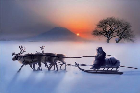Tableau Zen Inuit