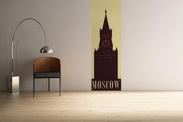 Papier Peint Retro Moscou