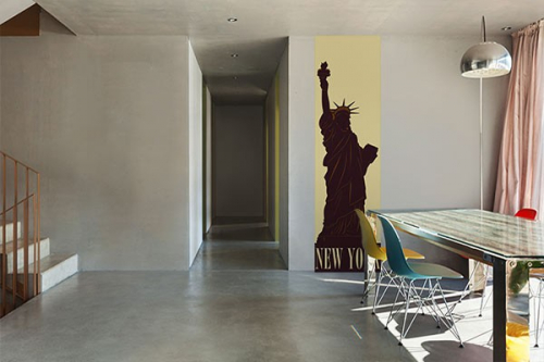 Papier peint Design Statue Of Liberty