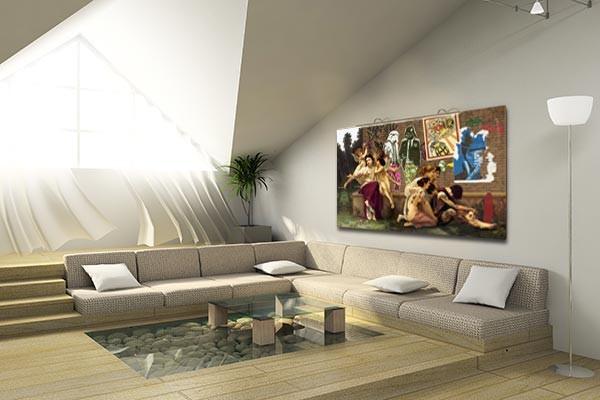 tableau street art amour transi toile originale d co. Black Bedroom Furniture Sets. Home Design Ideas