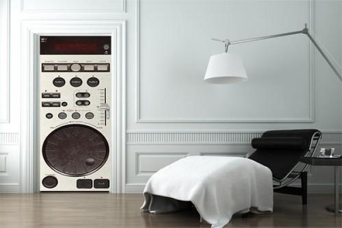 Porte Design DJ Platine