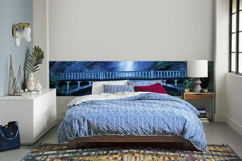 papier peint l unique paysage izoa. Black Bedroom Furniture Sets. Home Design Ideas