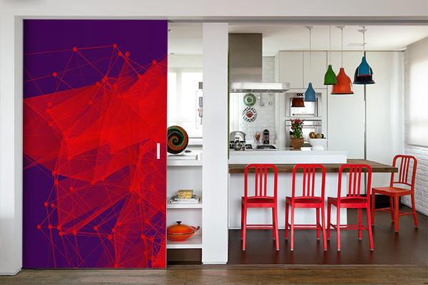papier peint cuisine mol culaire izoa. Black Bedroom Furniture Sets. Home Design Ideas