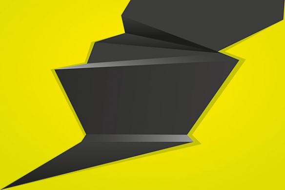 Fissure jaune