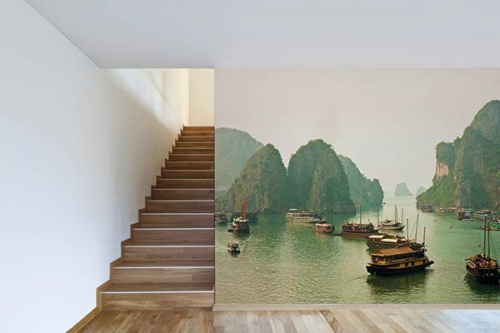 Poster mural design Baie de Ha Long
